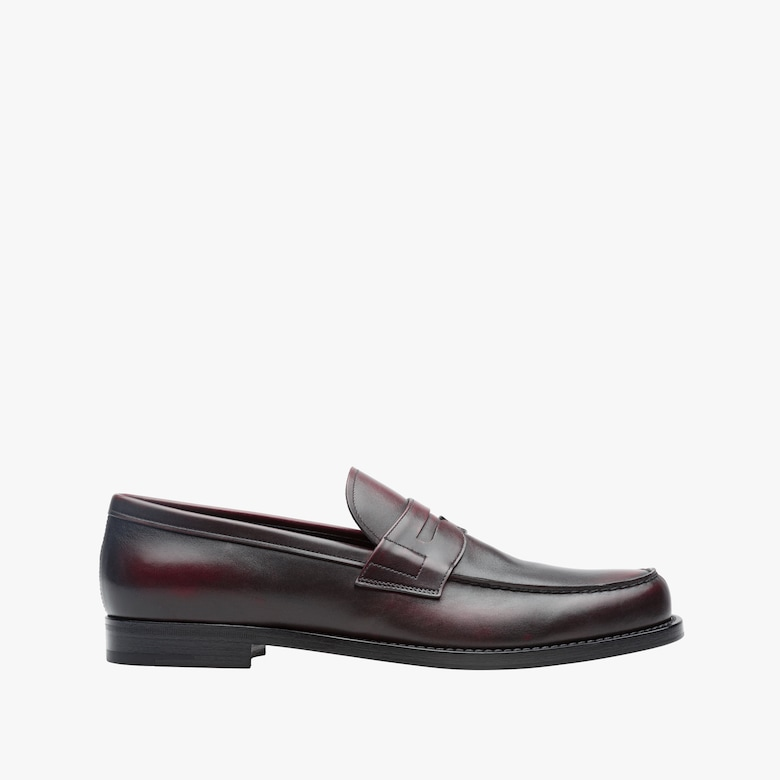 Leder-Loafers