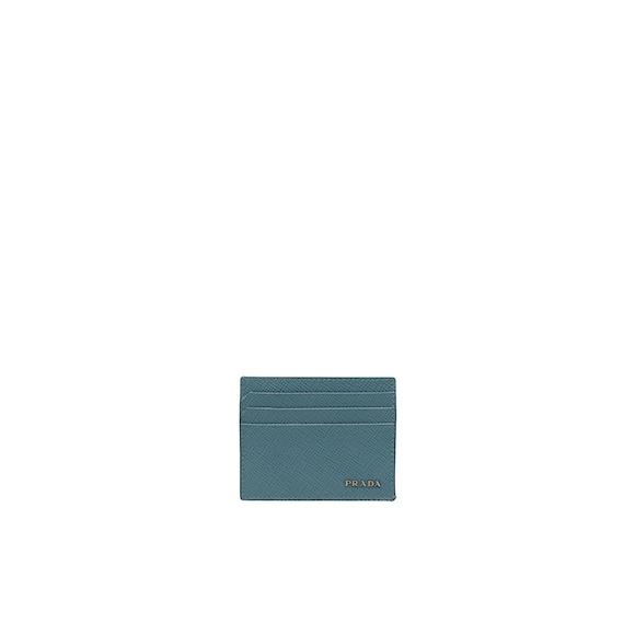 Saffiano 皮革信用卡套
