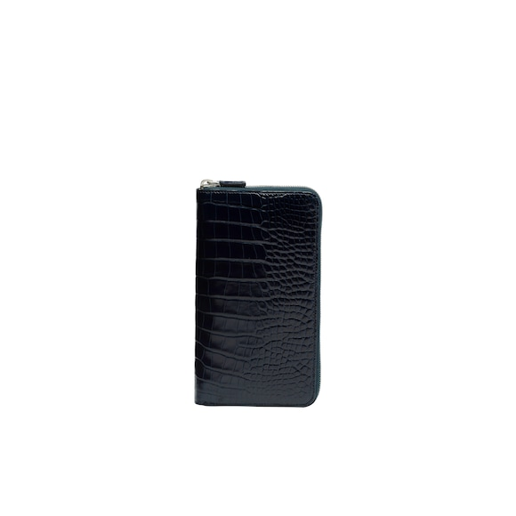 Crocodile Leather Document Holder