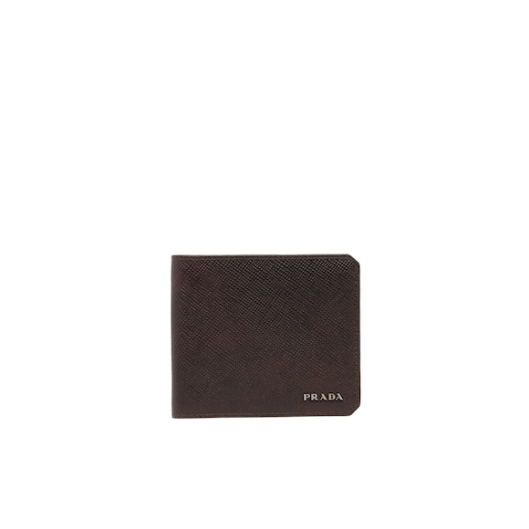 Saffiano Cuir leather wallet