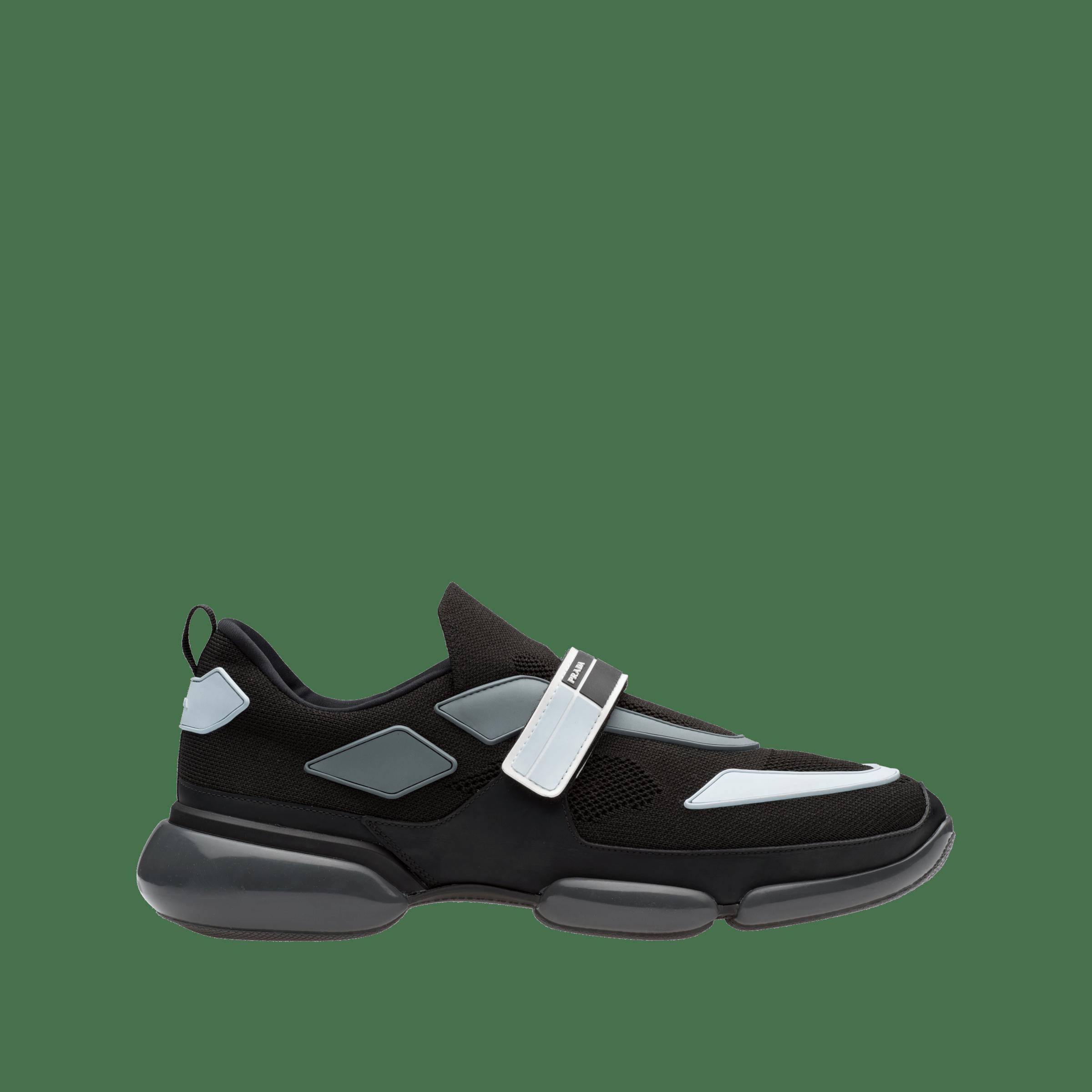 Cloudbust sneakers BLACK+ CLOUDY GRAY Prada