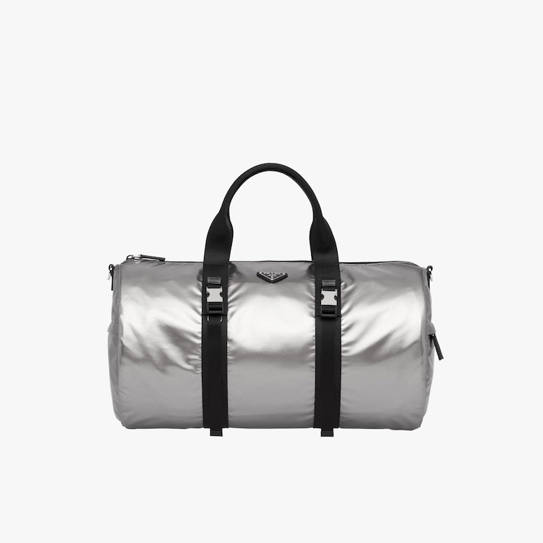 Technical fabric duffle bag