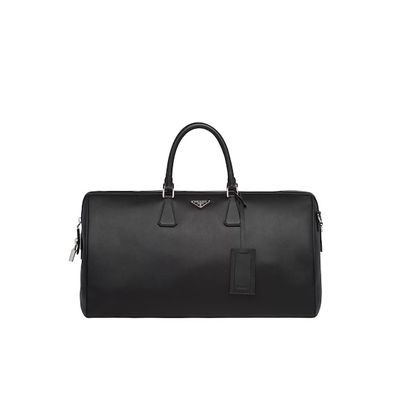 Saffiano Leather Travel Bag