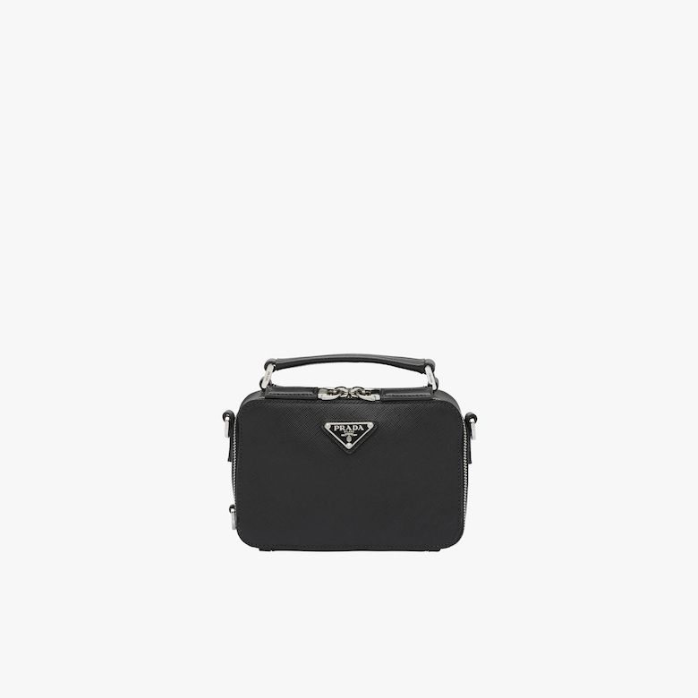 Prada Brique Saffiano leather bag