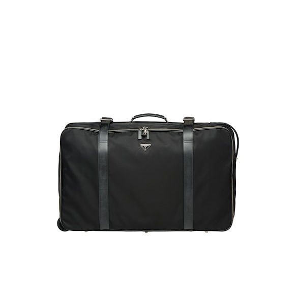 Nylon Semi-Rigid Suitcase