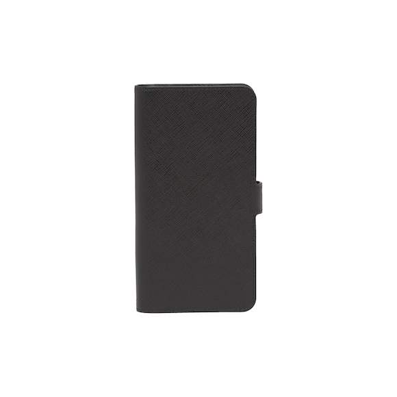 Saffiano leather smartphone cover