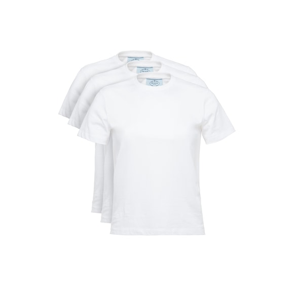 Cotton Jersey T-shirt, 3 Pack Set