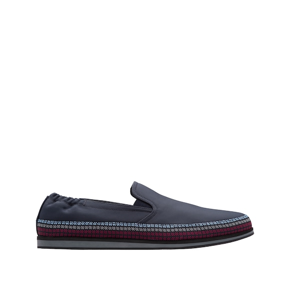 Technical Fabric Slip-On Shoes