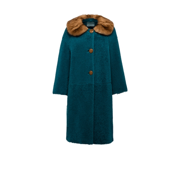 Sherling Coat With Fur