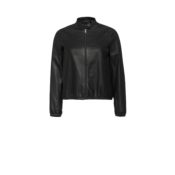 Light nappa leather jacket