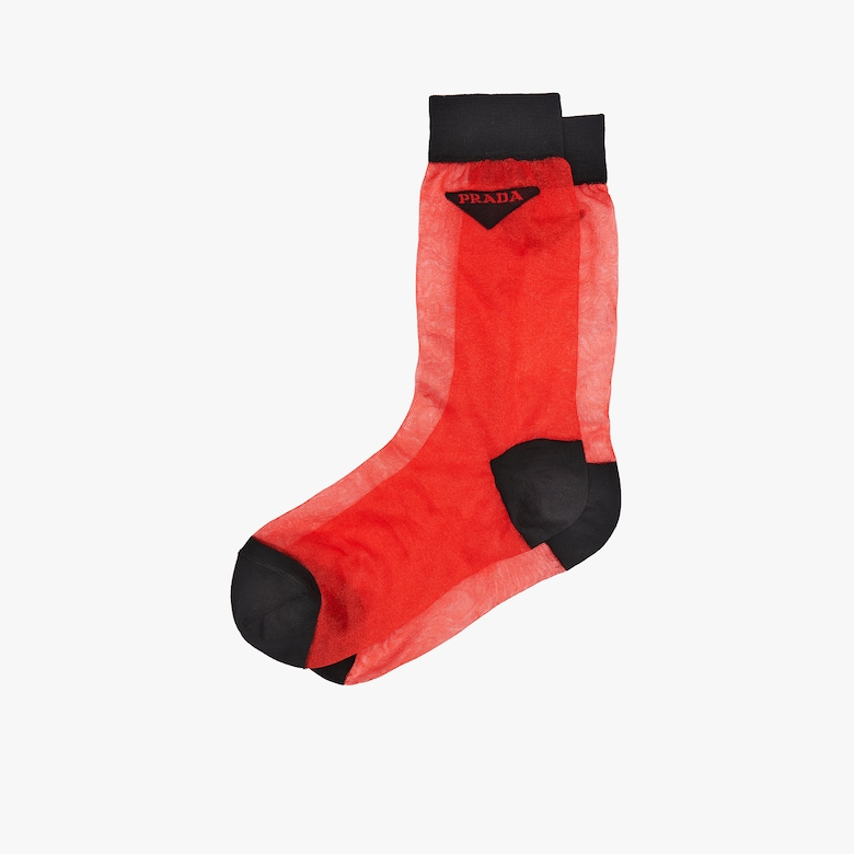 Light nylon socks