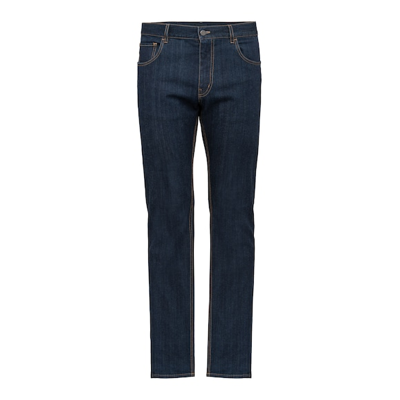 Tapered-Fit Stretch-Denim Jeans