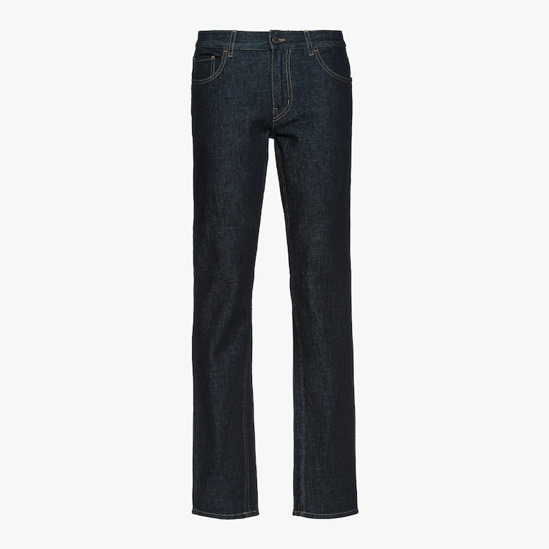 Five-pocket denim trousers
