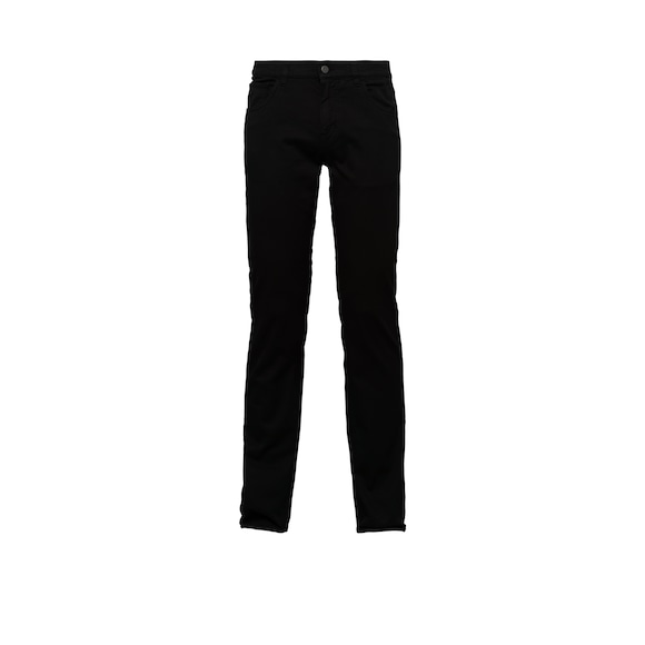 Tapered-Fit Dip-Dyed Drill Jeans