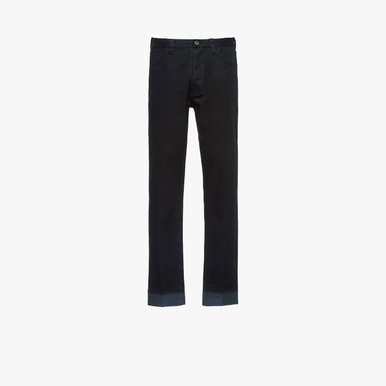 Five-pocket drill trousers