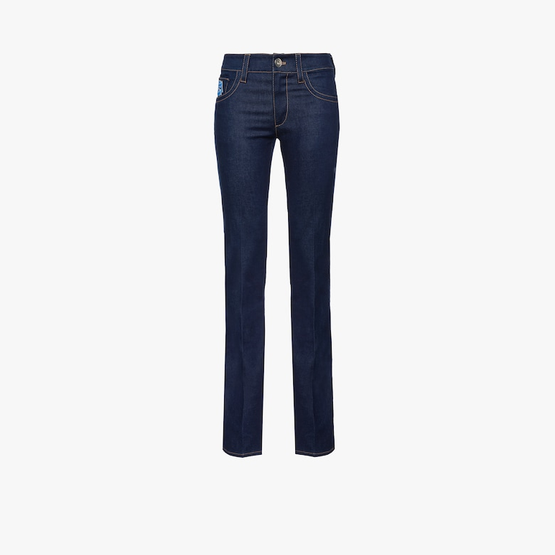 Denim five-pocket jeans