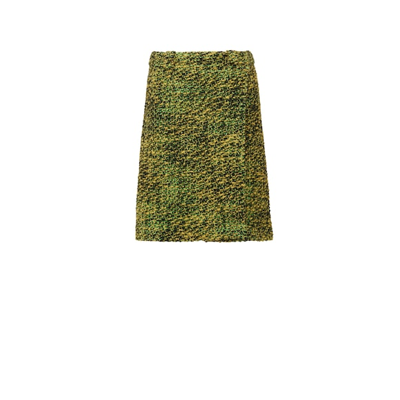Knickerbocker fabric pencil skirt