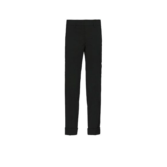 Stretch natté trousers