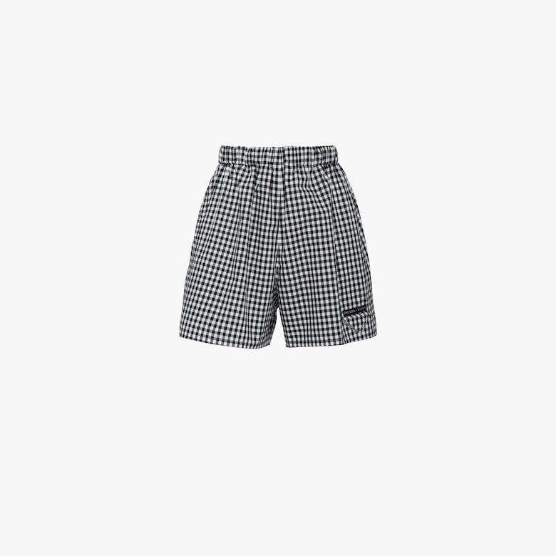 Vichy check shorts