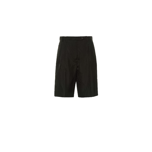 Technical twill Bermudas