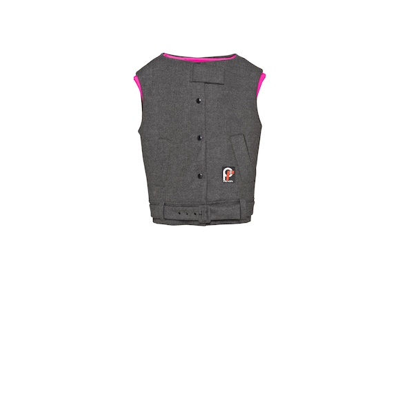 Wool cloth vest