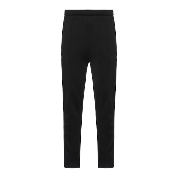 Cotton fleece trousers with logo
