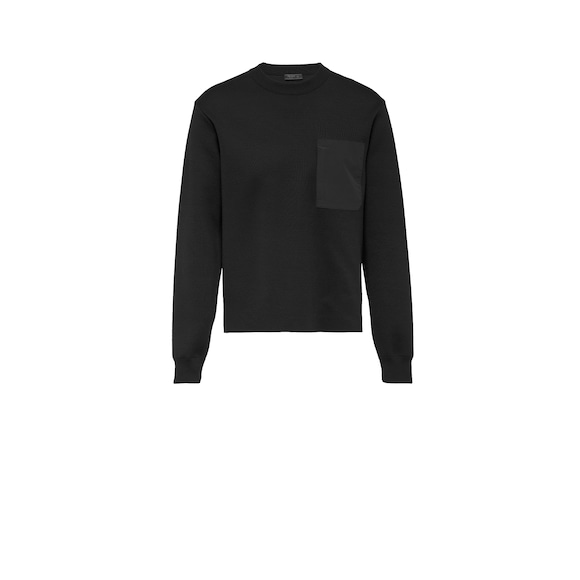 Wool Crew-Neck Sweater