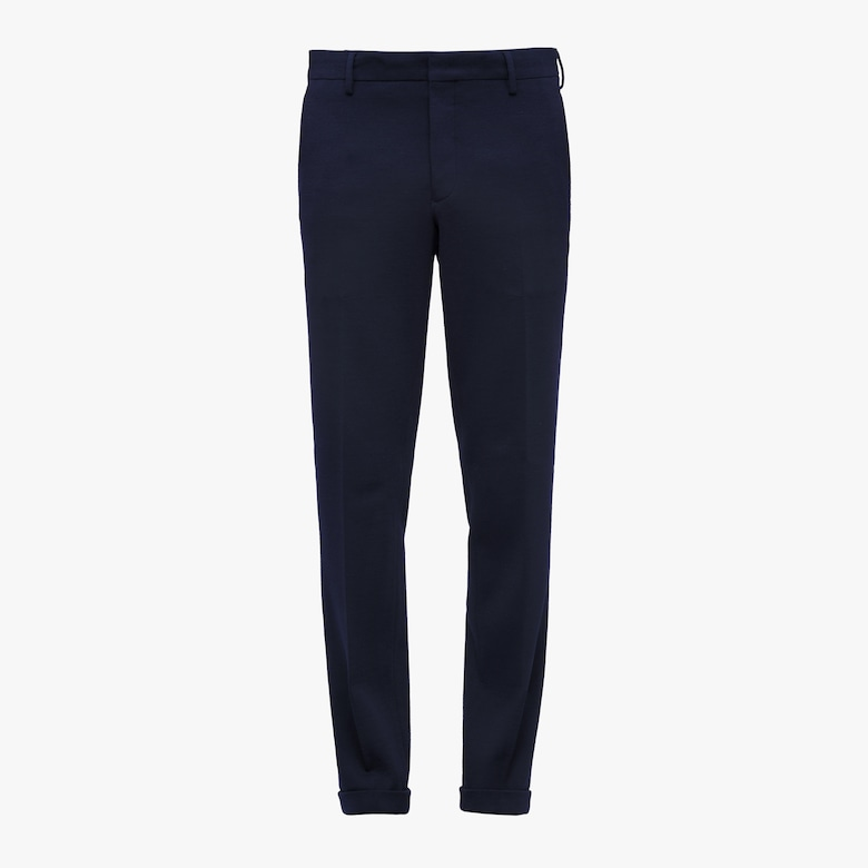 Jersey Wool Trousers