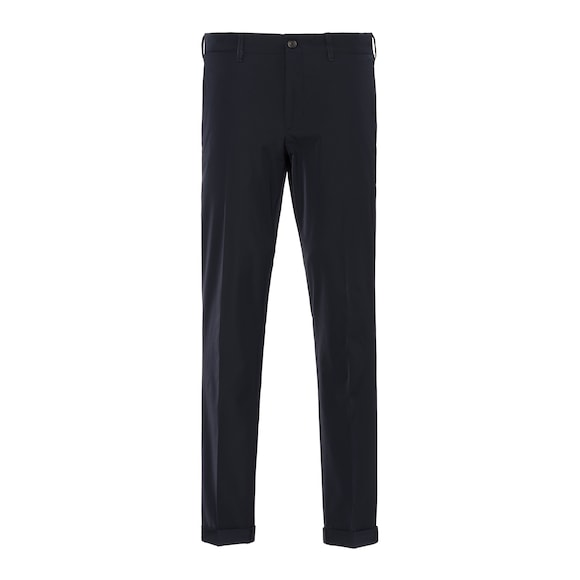 Light Stretch Techno Fabric Trousers