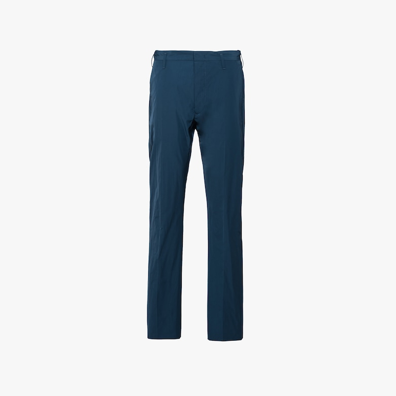 Technical gabardine trousers