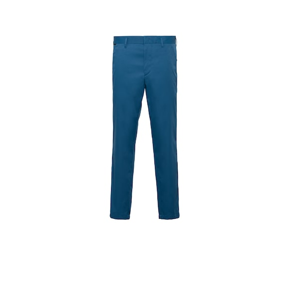 Technical twill trousers