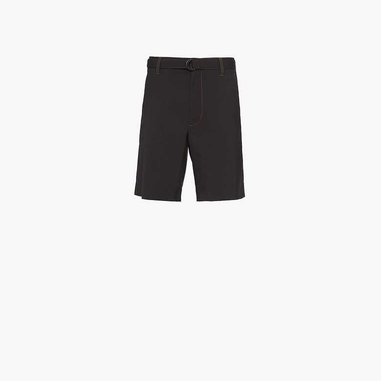 Light wool Bermudas
