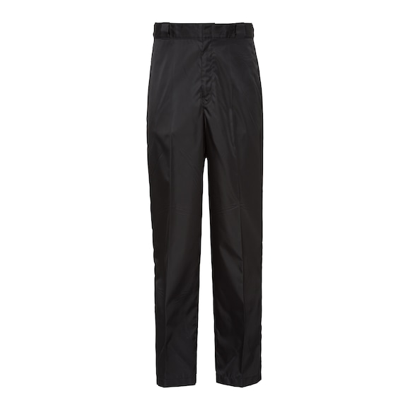 Nylon gabardine trousers