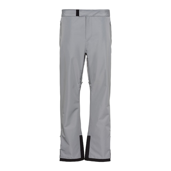 Technical fabric ski pants
