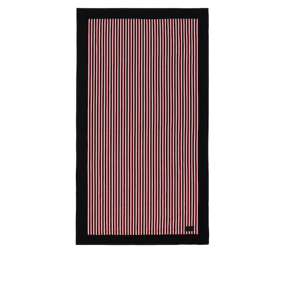 Cotton terry beach towel