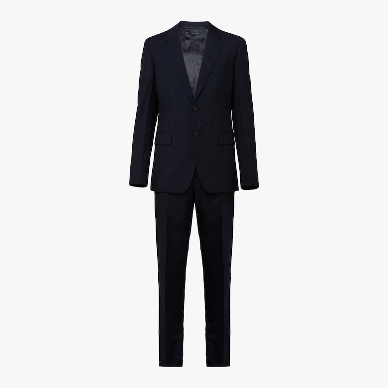 Mohair Single-Breasted Suit