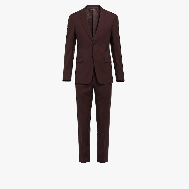 Mohair wool suit