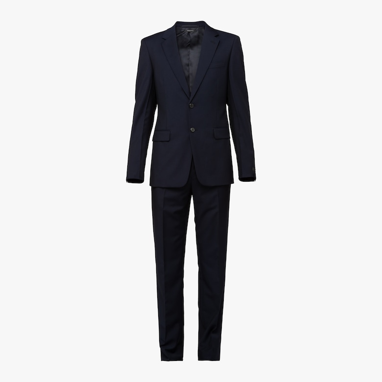 Single Breasted Wool And Mohair Suit