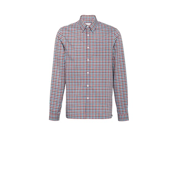 Checked cotton shirt