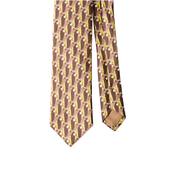 Printed Twill Tie