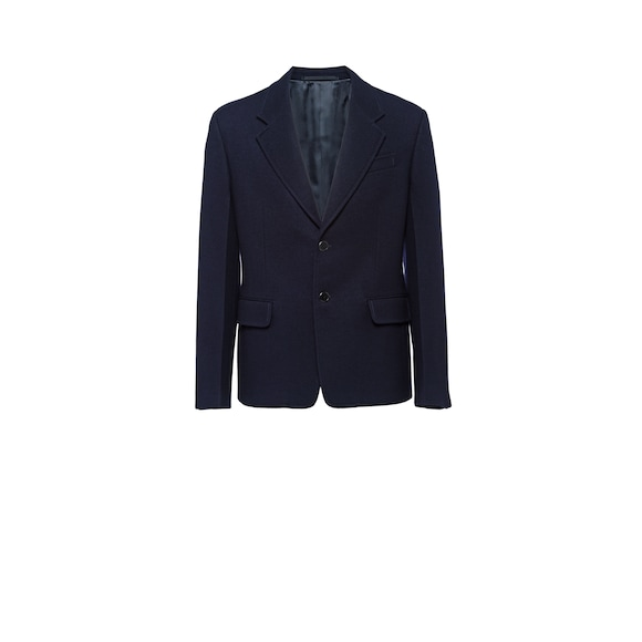 Single-breasted cloth blazer