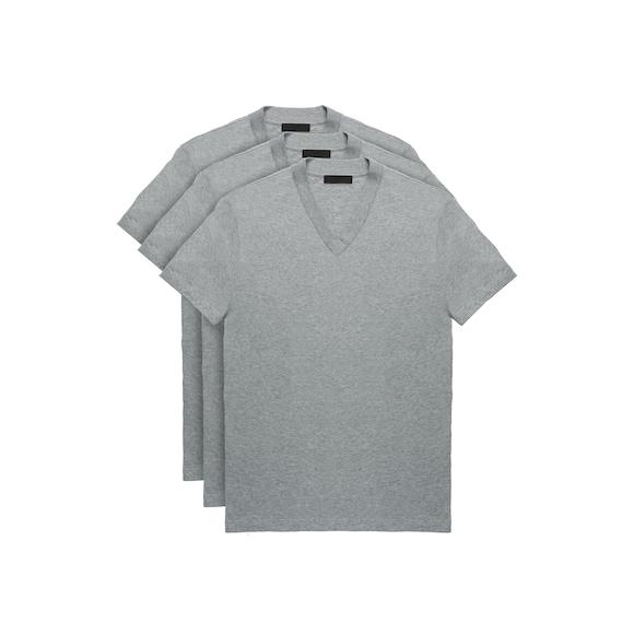 Camiseta De Punto Blanca De Prada