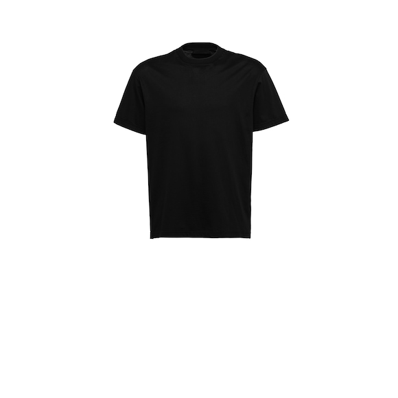Cotton jersey crew-neck T-shirt