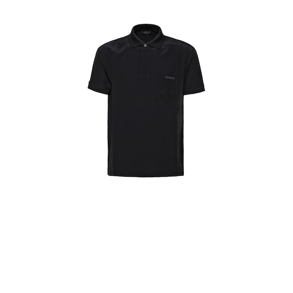 Polo en coton stretch