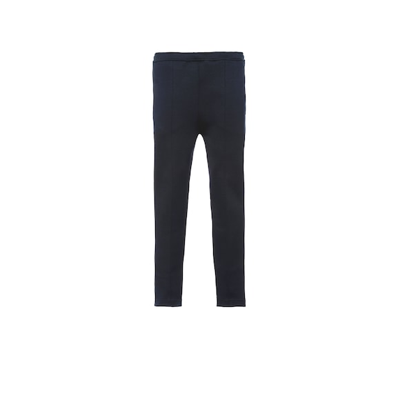 Technical jersey jogging pants