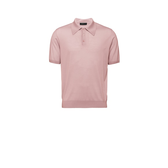 Wool Polo Shirt