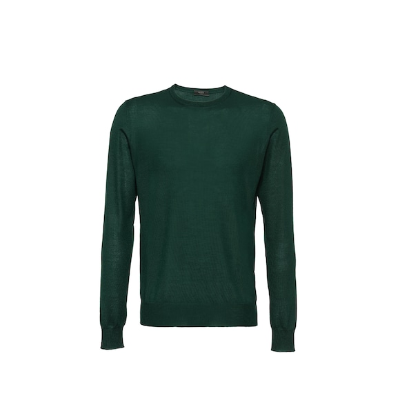 Soft Cashmere Crew-Neck Sweater