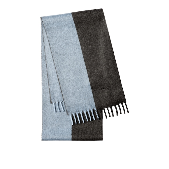Contrasting Cashmere Scarf